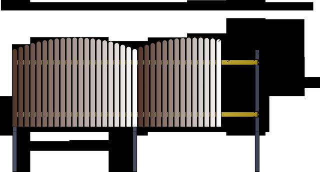 Как сделать забор закругленный